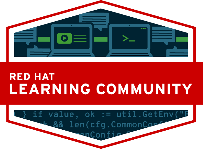 Red Hat Learning Community