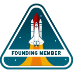 RHLC Founding Member Badge