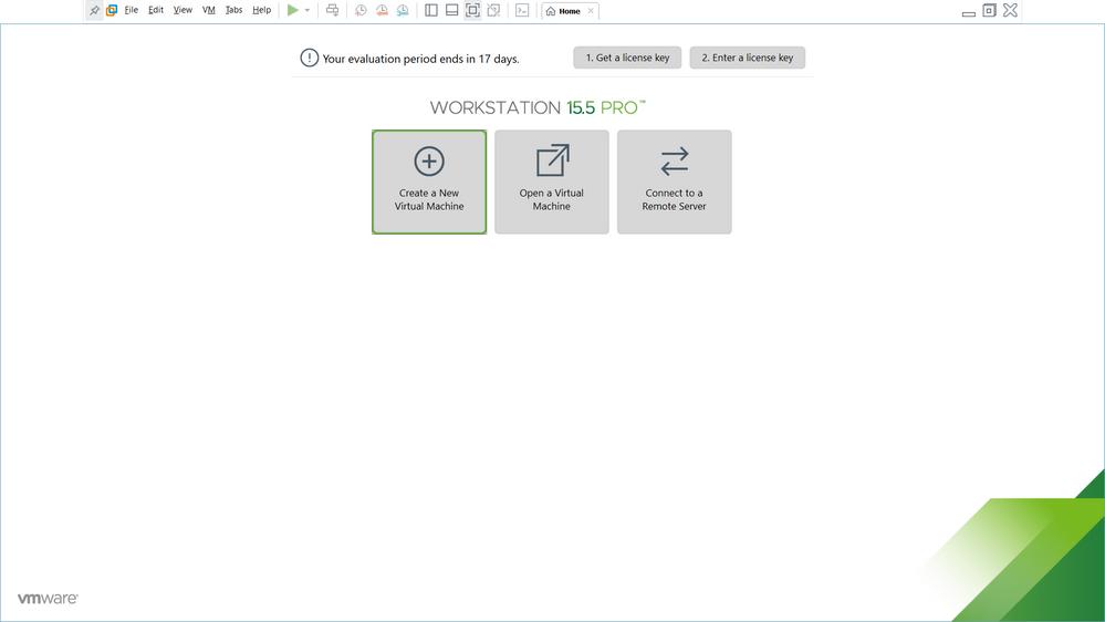 VM Creation - Step 1