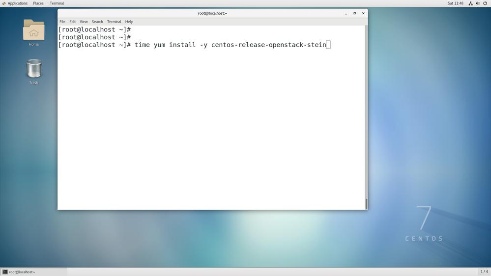 installing Openstack - Step 4