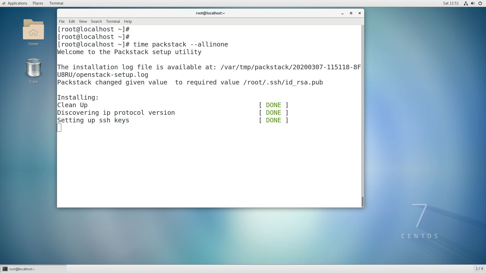 installing Openstack - Execution Takes more Than 30 mints )