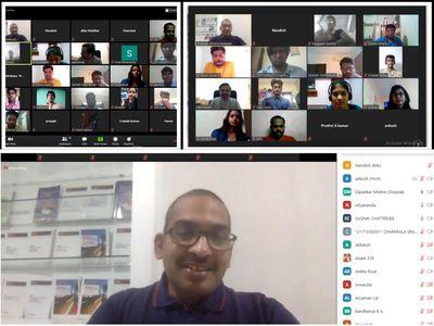 Mentorship discussion by Deepak