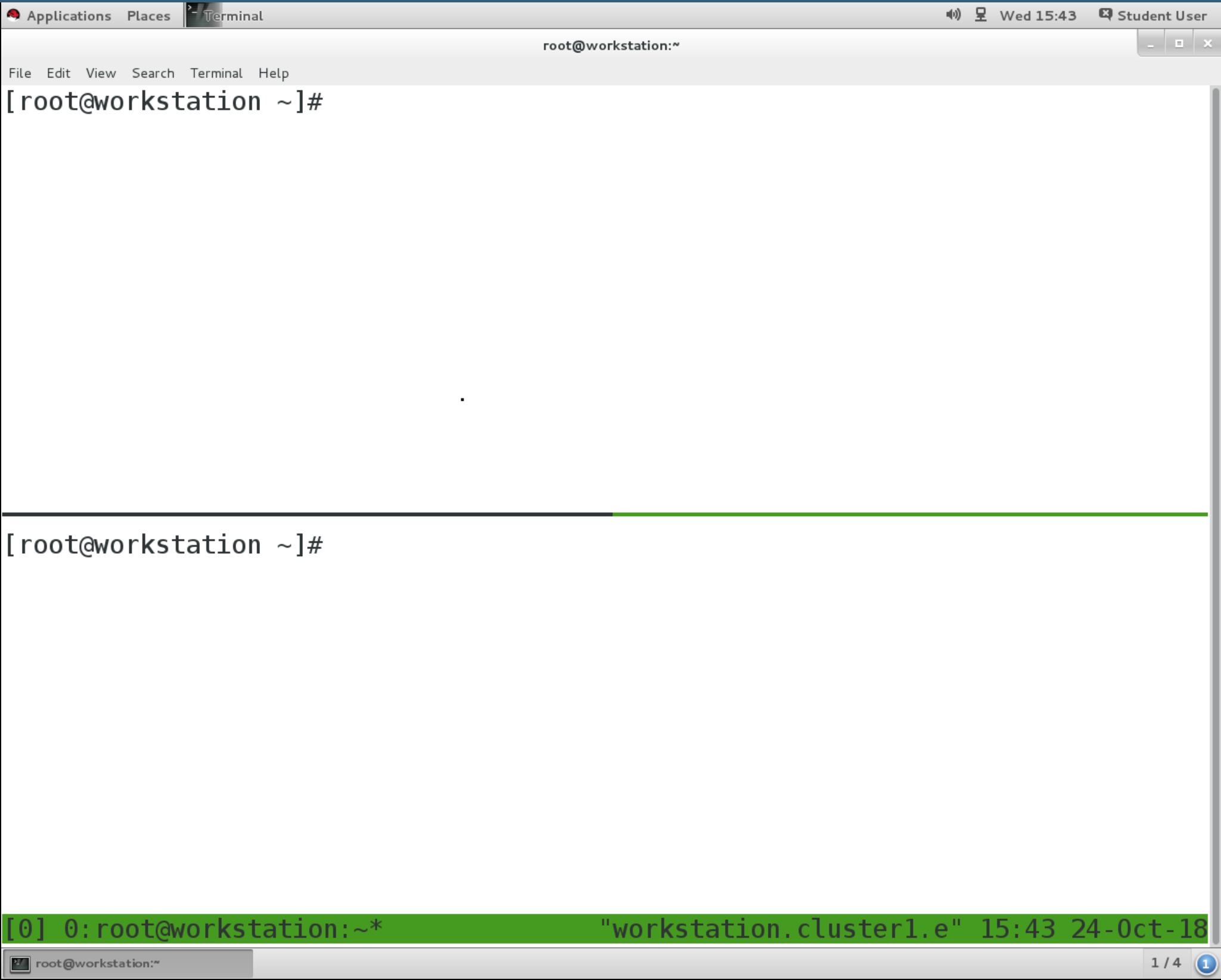 Using tmux to execute commands on servers in paral    - Red Hat